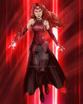 SCARLET WITCH - RED by Crike99