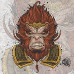 Monkey King - VECTOR ART