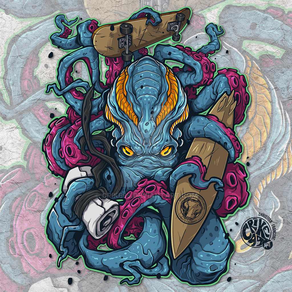 Octopus - VECTOR ART