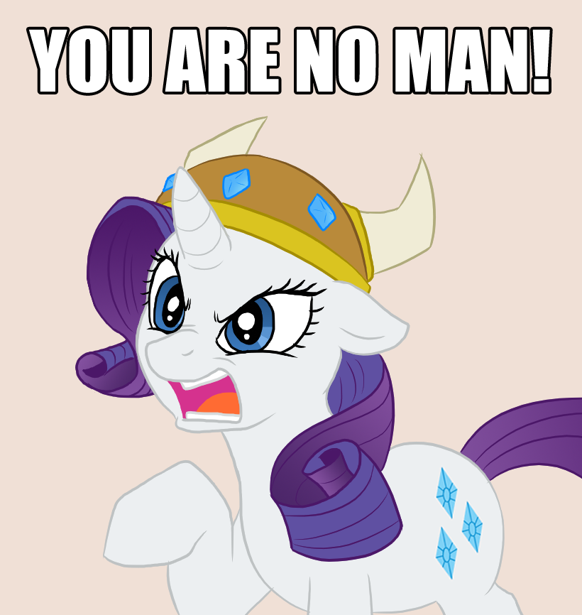 Rarity judges your manhood by Apple-707