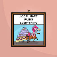 Local Mare Ruins Everything by Apple-707
