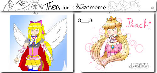 Peach Then And Now