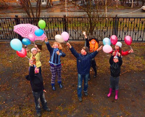 Misha's birthday party