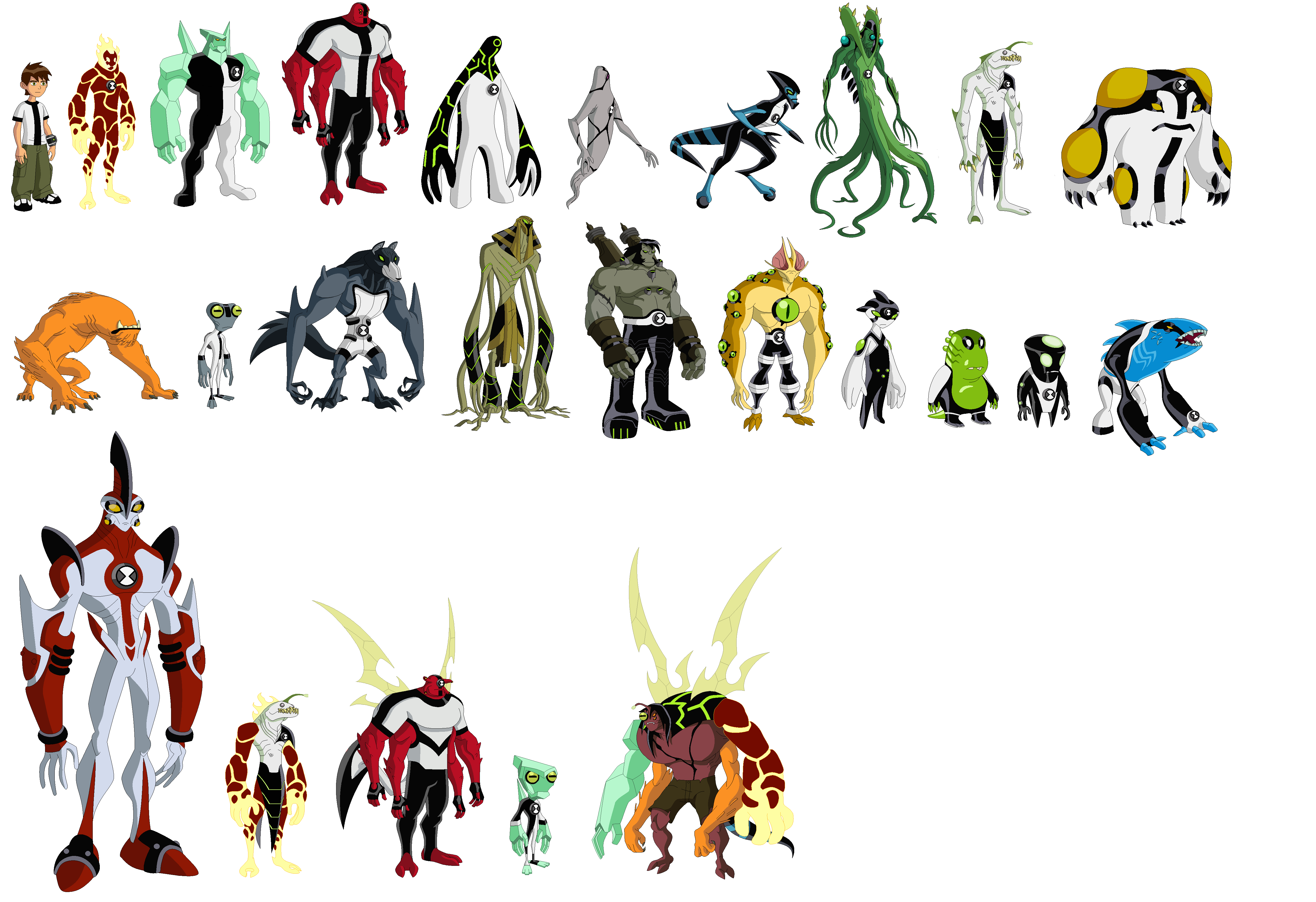 все картинки героев бэна тэна