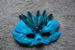 Blue Feather Mask 1