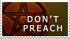 Don't Preach Stamp 1 by sd-stock