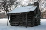 Snowy Cabin 13
