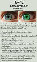 Eye Color Tutorial 2 by sd-stock