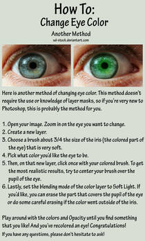 Eye Color Tutorial 2