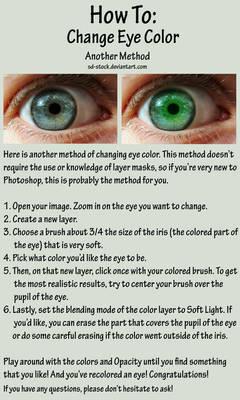 Eye Color Tutorial 2