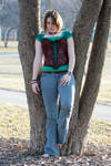Corset and Jeans 123