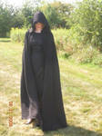 Black Dress and Cloak 2