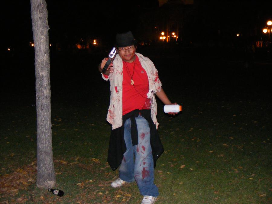 Zombie walk survivor by Tailef