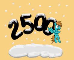 2500 Pageviews!