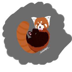 Red panda by Glumdrops2018