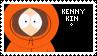 KENNY KIN STAMP by POWERBOTTOM
