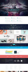 TheFox WordPress Creative Homepage #1 by tranmautritam