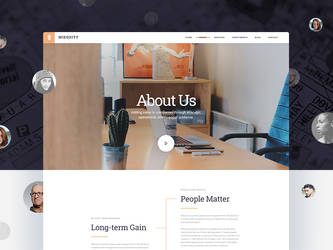 Free PSD - MIEquity - About Us