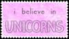 I Believe in Unicorns. [99 x 56] by Hurricane-Hannah