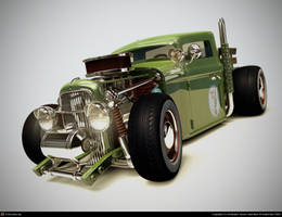 super deformed ford 28   2 by xtrm3d