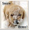 Snow Hero Prize Stamp by xgnyc