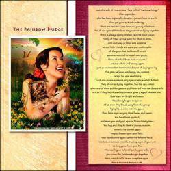 The Rainbow Bridge Visual Poem by xgnyc