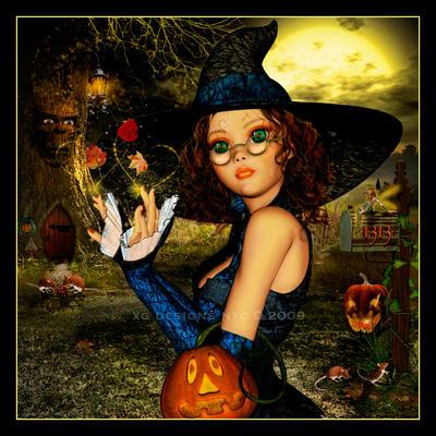 Elmira the Autumn Witch by xgnyc
