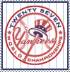 NY Yankees 2009 Champs Stamp by xgnyc