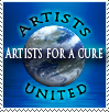 Artists for a Cure Stamp by xgnyc
