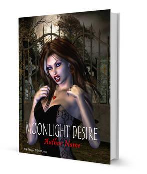 Moonlight Desire Book Cover Art
