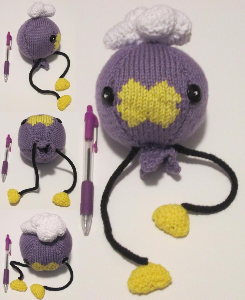 Knitted Drifloon Plush by Vidimus78