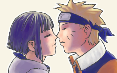 Naruto et Hinata by Petite-feuille