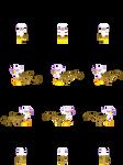 MLP RPG Sprites (Gilda)