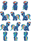 Evil Rainbow Dash (RPG Maker VX Ace) by KillerMareGaming