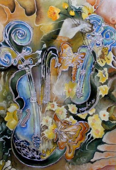 Concert In Poienita Cu Flori by maribaets