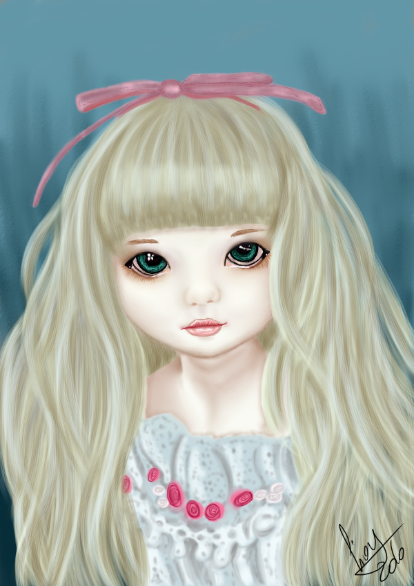 Doll Painting Practice by GiovyLoCa