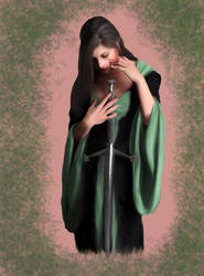 .::com::. Dacey Mormont by GiovyLoCa