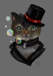 Sir Kitty-Cat by GiovyLoCa