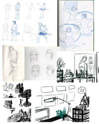 SketchDump1 by GiovyLoCa