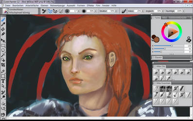 Red Widow Wip by GiovyLoCa
