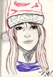 Christmas: Megan by GiovyLoCa