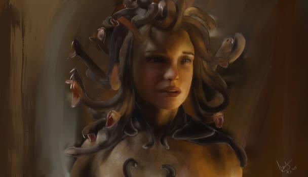 Clash of the Titans: Medusa by GiovyLoCa