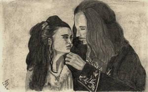 SBP: Dracula and Mina by GiovyLoCa