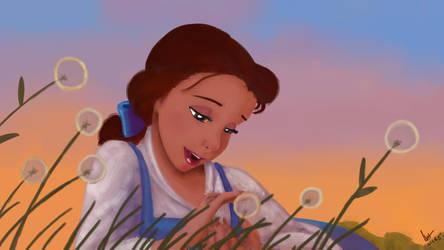 Belle Screencap Painting + Video