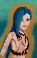 Aaww, Jinx by GiovyLoCa