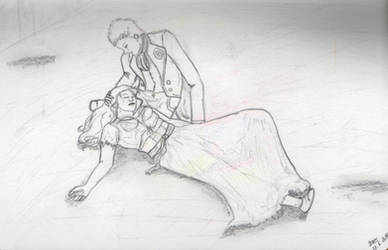 SBP: Marius and Eponine by GiovyLoCa