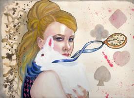 Alice in Wonderland by GiovyLoCa