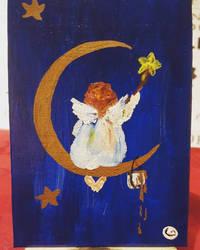 Postcard 3: Angel by GiovyLoCa