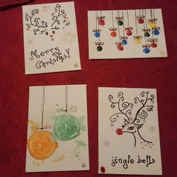 XMas Postcards: Simple