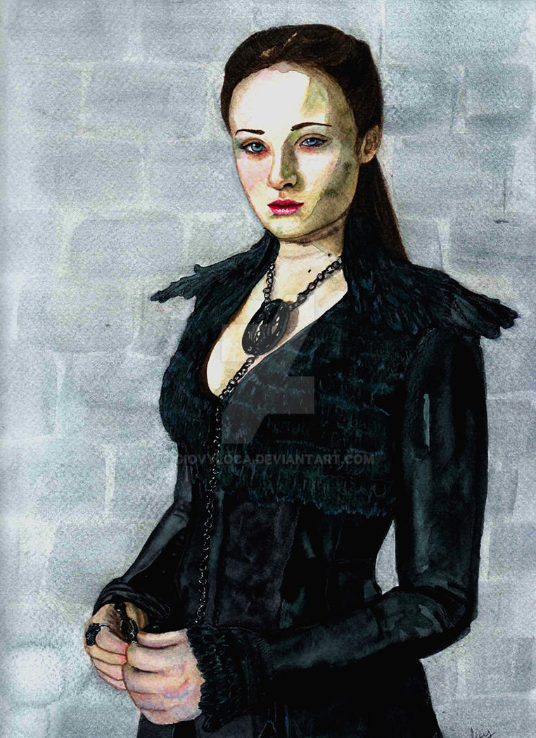 GoT: Dark Sansa .:com:. by GiovyLoCa